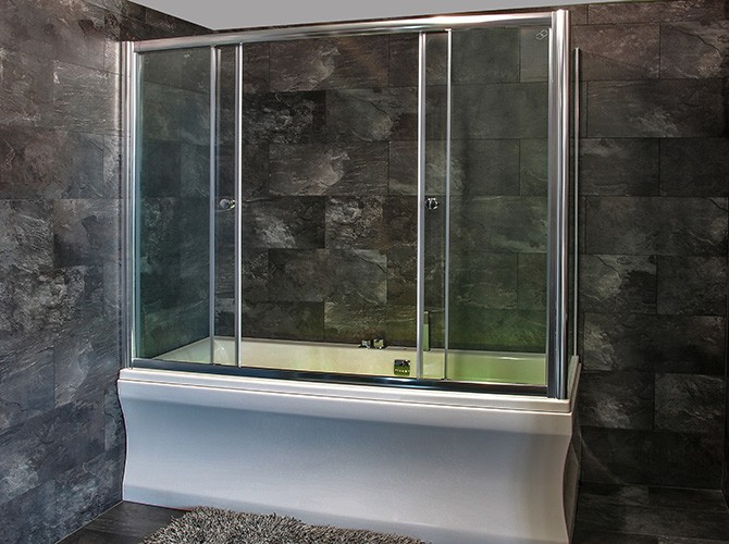 badewannenaufsatz schiebet r duschabtrennung f r badewanne 5mm esg glas. Black Bedroom Furniture Sets. Home Design Ideas